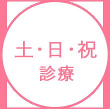 土・日・祝診療